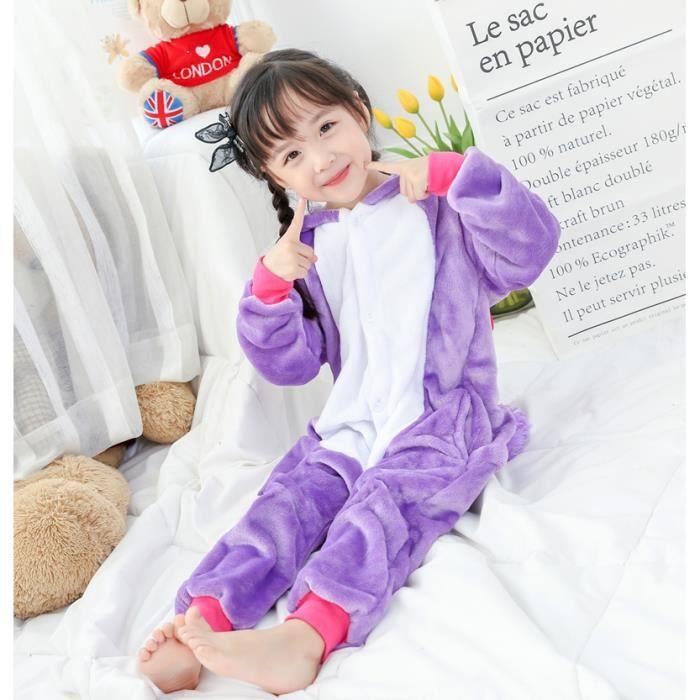 pyjama licorne enfant violet achat vente pyjama licorne enfant violet pas cher cdiscount. Black Bedroom Furniture Sets. Home Design Ideas