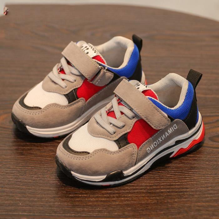 a63y25 Chaussures pour enfants Sandales décontractées pour garçons et filles 26 bleu venSeUE