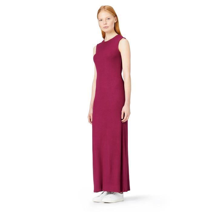 Slim Fit Rib Maxi robe de la femme 2P0JMI Taille-36