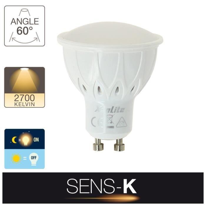 Sg50asd Cons Lumineuse Ampoule Led Gu10 50w 5w Intensité Eq Spot Culot Automatique qHXRwxAHZP