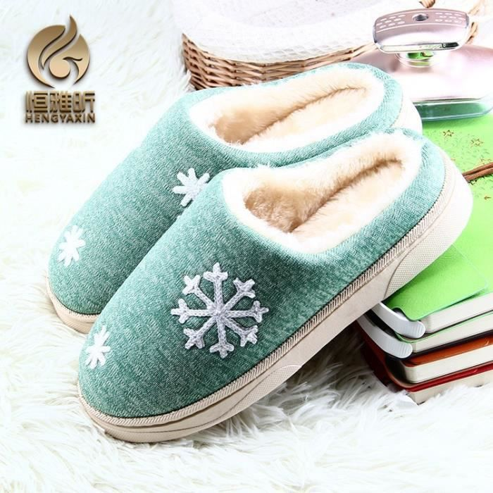 Chausson Rose 40 Coton Lovers Sheep Pantoufles Indoor Peluches Maison Chaussures XHfz566LCH