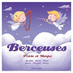CD MUSIQUE CLASSIQUE Berceuses Flûte et harpe - CD Musique douce