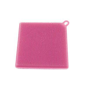 ÉPONGE VAISSELLE Napoulen®1pcs Nettoyeur éponge à vaisselle en sili