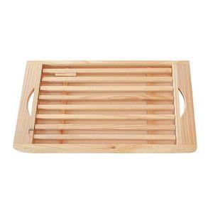 PLANCHE A DÉCOUPER FRANDIS Planche pain + ramasse-miettes en bois pin