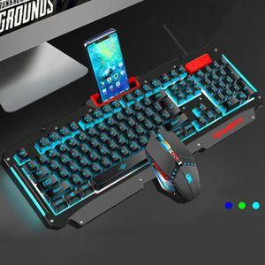 PACK CLAVIER - SOURIS Kit Clavier et Souris pour Jeux Gaming Rétroéclair