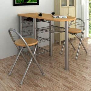 Table De Cuisine Et Chaises.Table Bar Cuisine Chaise