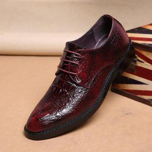 Chaussures cuir rouge homme Achat Vente Chaussures cuir