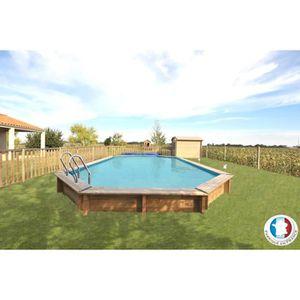 piscine bois 8 x 5