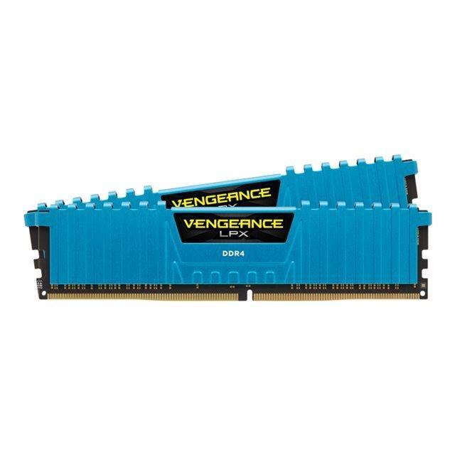 Corsair Vengeance LPX Series Low Profile 16 Go (2x 8 Go) DDR4 3000 MHz CL15 - Kit Dual Channel 2 barrettes de RAM DDR4 PC4-24000 - CMK16GX4M2B3000C15B (ref : CMK16GX4M2B3000C... Voir la présentationMEMOIRE PC - PORTABLE