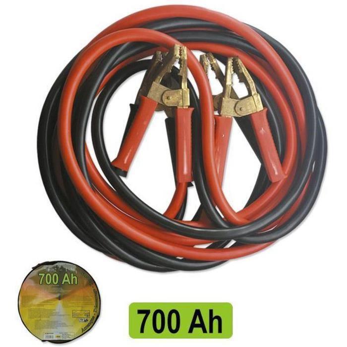 JBM Câbles de Démarrage 70 mmx2 7 Mètres