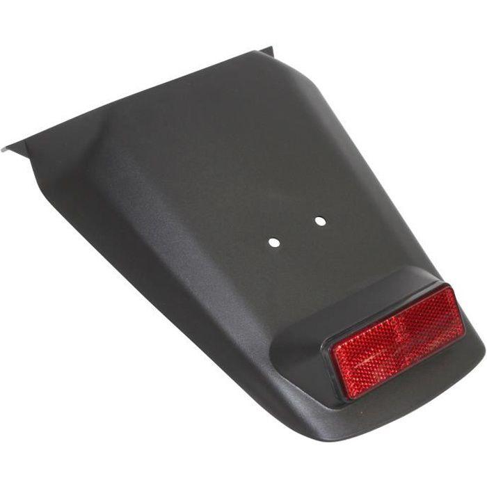 bavette/garde boue arriere scoot adaptable mbk 50 booster 2004>/yamaha 50 bws 2004> noir
