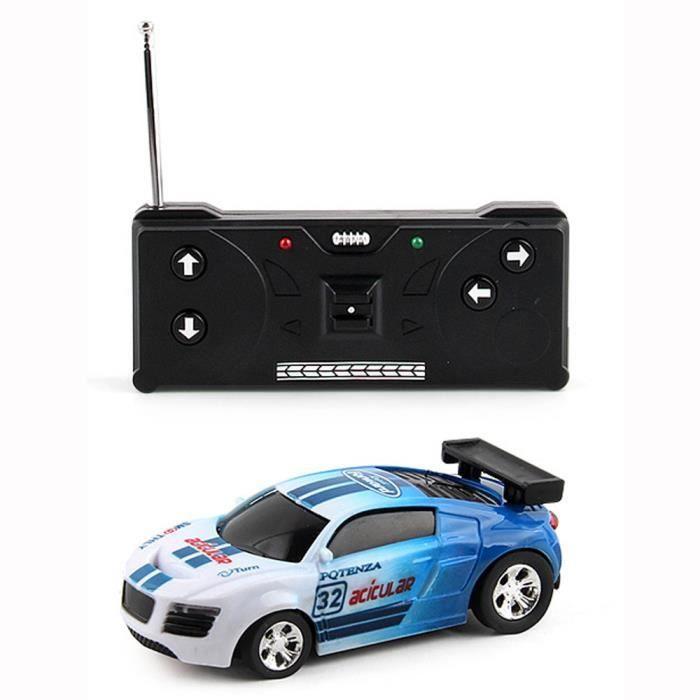 Multicolor Rc Voiture Can Mini Jouet Micro Cadeau Bu Télécommande Speed Racing Wj624 Radio Nv80nwm