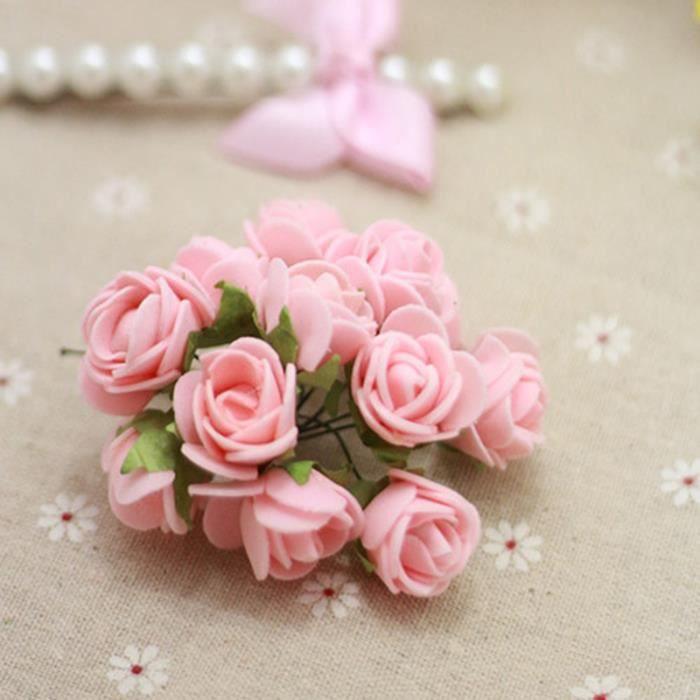 144pcs bouquet de rose joli artificielle fleur ternel. Black Bedroom Furniture Sets. Home Design Ideas