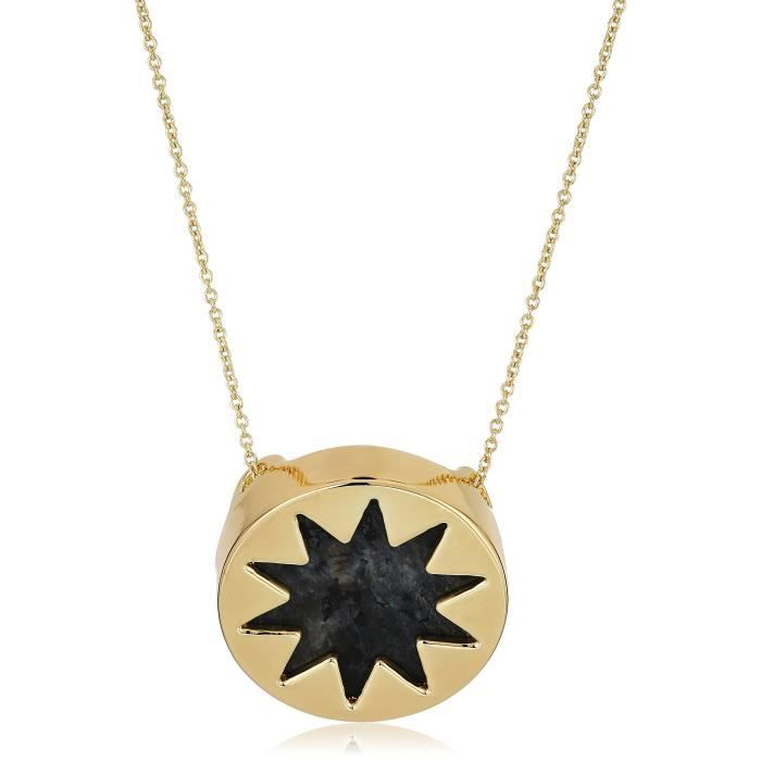 House Of Harlow 1960 Mini Sunburst Pendant Necklace VIOZ5