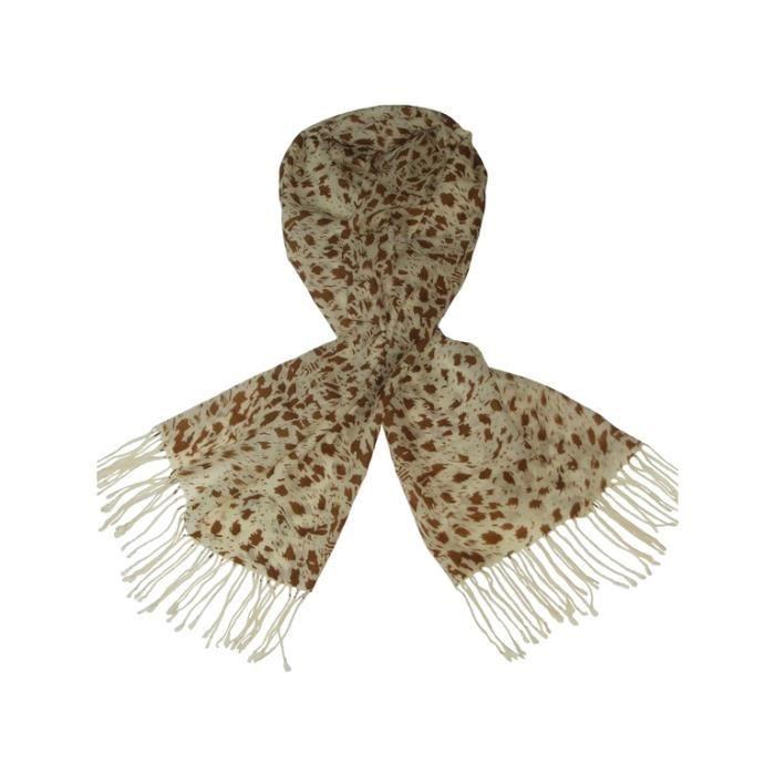 614bee1988d Etole femme 100% laine - écharpe chale multicolore - Achat   Vente ...