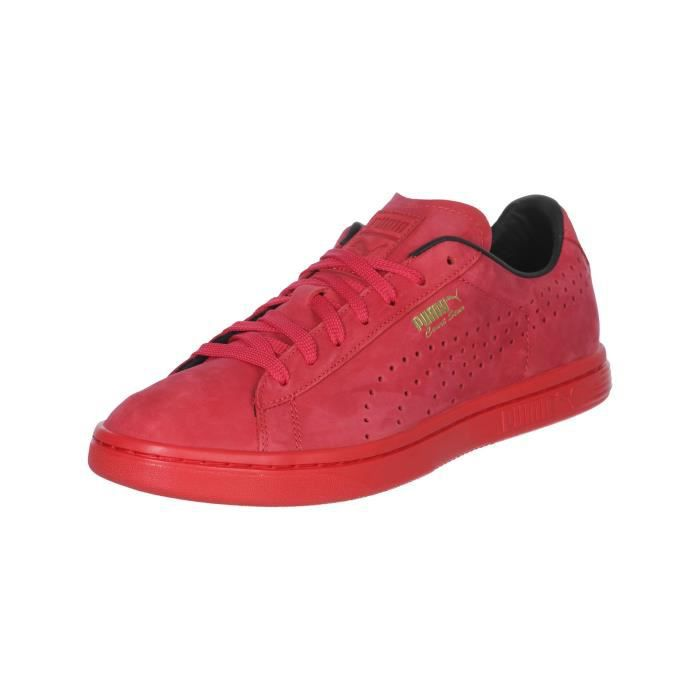 3ed2728dcd9ff CHAUSSURES PUMA COURT STAR HIGH RISK RED Rouge - Achat   Vente ...