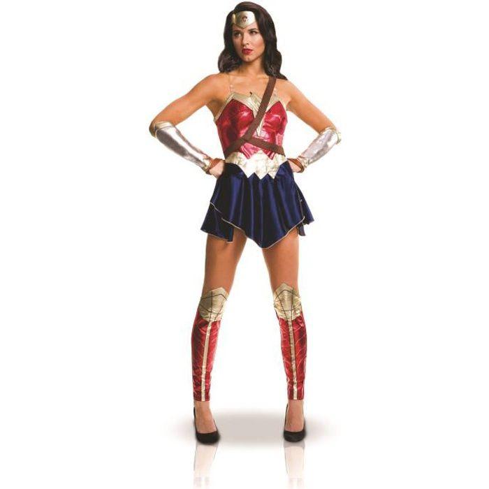 ad9255597eb6ea Déguisement adulte Wonder Woman Justice League - Achat   Vente ...