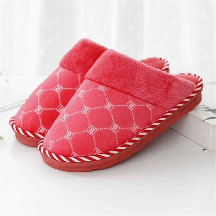 Chaussons Femmes Hiver Coton ChaussonNouvelle arrivee Meilleure Qualité Chaussure Plus De Couleur Grande Taille 37-41 ncEITB