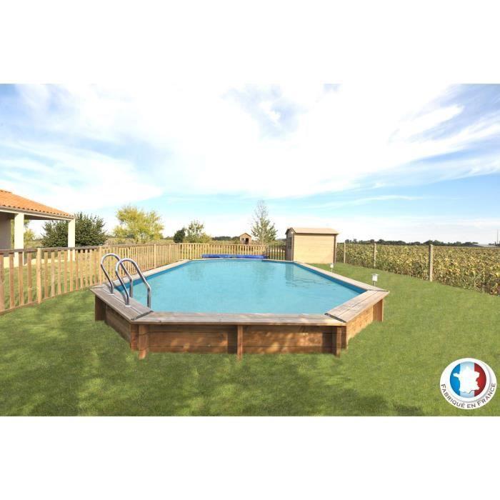 Avila piscine bois 9 42 x 5 92 x 1 46 m achat vente for Achat piscine bois