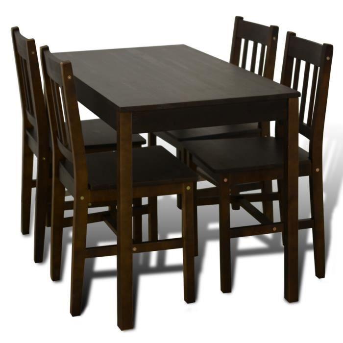 Cet Ensemble De Table à Manger Avec Les Lignes Simples Est Parfait