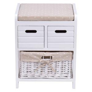 banc de rangement avec panier achat vente banc de. Black Bedroom Furniture Sets. Home Design Ideas