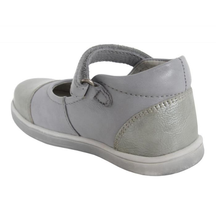 Chaussures pour Fille KICKERS 413501-10 TREMIMI GRIS CLAIR RMRzJDS