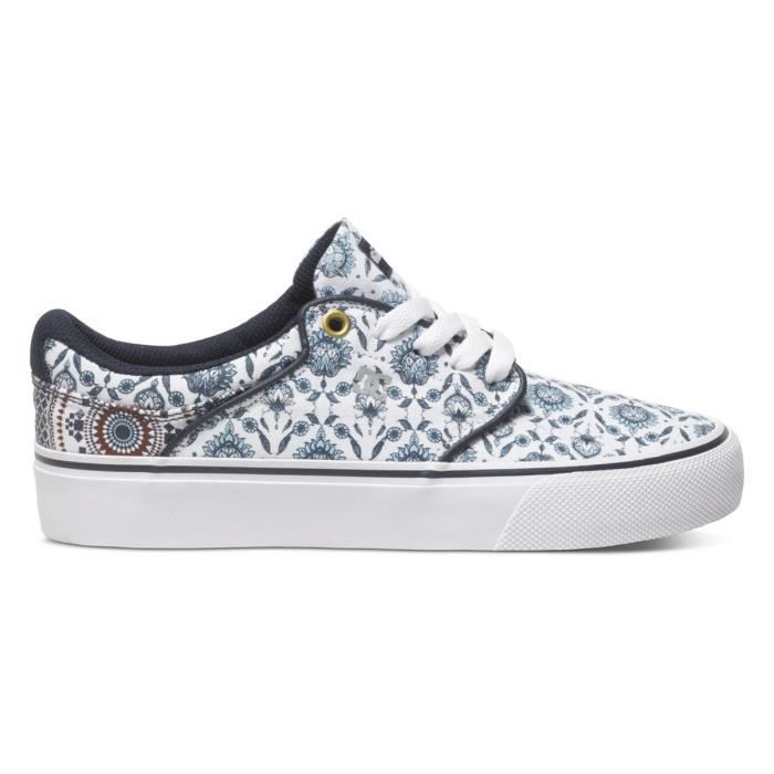 DC SHOES Mickey Taylor Vulc Chaussure Femme - Taille 37 - BLANC 9fBcV