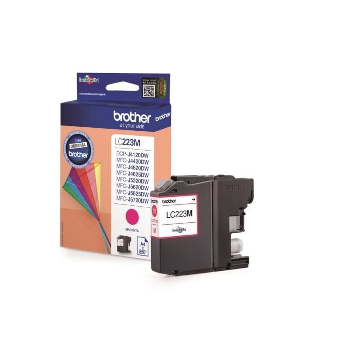 Brother LC223M Cartouche d'encre Magenta