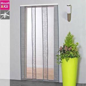 MOUSTIQUAIRE OUVERTURE Moustiquaire rideau pour porte L130 x H230 cm beig