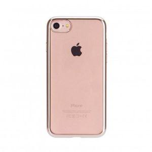 XQISIT Coque Flex Chromed Edge iPhone 7 - Or rose