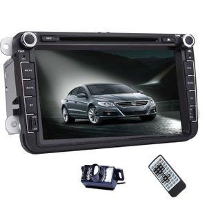 AUTORADIO Double Stereo Din Car GPS 2 Din Autoradio tactile