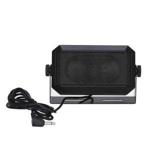 HAUT PARLEUR VOITURE RPSP-15 Haut-parleur Mobile Radio CB 3,5 mm plug h