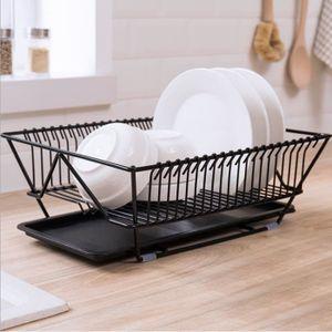 EGOUTTOIR À COUVERTS Panier à Vaisselle  Support à vaisselle en métal e