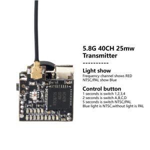 PIÈCE DÉTACHÉE DRONE Transmetteur de caméra FPV commutable LST-S2 800TV