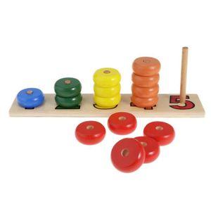 JEU D'APPRENTISSAGE Maths développementaux en bois de calcul de jouets