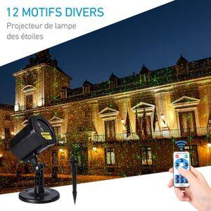 Projecteur laser exterieur noel avec telecommande achat vente pas cher for Tele achat projecteur noel