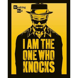 AFFICHE - POSTER Breaking Bad - I am the one who Knocks - 40x50cm -
