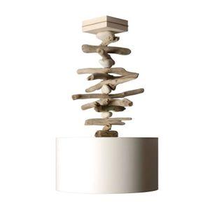 lustre bois flotte achat vente lustre bois flotte pas cher soldes d s le 10 janvier cdiscount. Black Bedroom Furniture Sets. Home Design Ideas