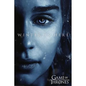 AFFICHE - POSTER Poster Games of Thrones - Winter is Here-Daenerys