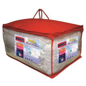 PACK LINGE DE LIT DODO Pack Anti-acariens Rêves d'hiver - 1 couette