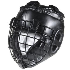 CASQUE DE BOXE - COMBAT casque à grille intégral amovible combat extrême