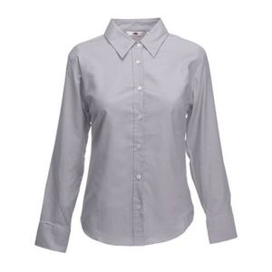 CHEMISE - CHEMISETTE FOT-14Fruit of the Loom Lady-Fit Chemise à manches
