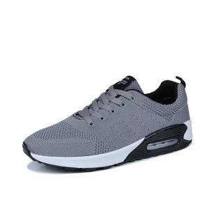 Chaussures de course pour hommes 43 GEERBU chaussures de sport respirant sneaker chaussures confortables Gris Gris - Achat / Vente basket  - Soldes* dès le 27 juin ! Cdiscount