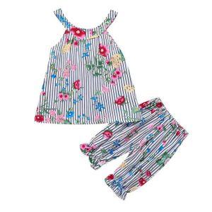 c6a3da945f1b2 Ensemble de vêtements Tout-petits enfants Vêtements bébé fille Outfit ma ...