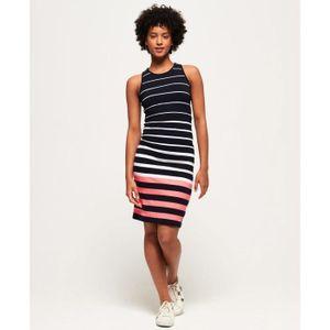 d17b0edd594 ROBE Vêtements femme Robes Superdry Sports Luxe Midi ...