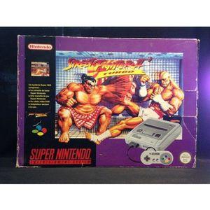 CONSOLE RÉTRO CONSOLE SUPER NINTENDO PACK STREET FIGHTER 2 TURBO
