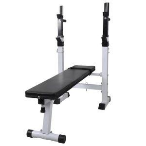 BANC DE MUSCULATION Banc de musculation- pliable - réglable Fitness en