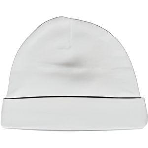 BONNET - CAGOULE Bonnet bébé Taille 1 blanc naissance à 3.