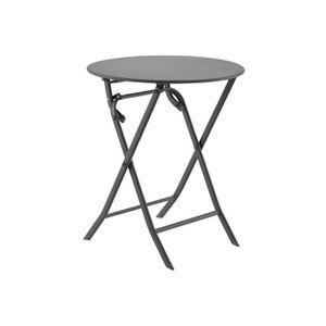 Table de jardin pliante ronde - Achat / Vente pas cher - Soldes ...