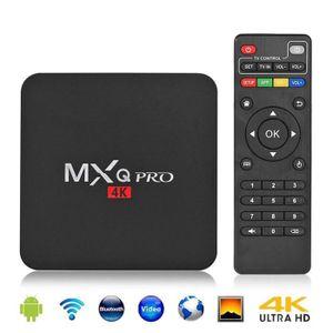 PACK ACCESSOIRES Vktech® Décodeur multimédia Smart TV Box MXQ 4K, A